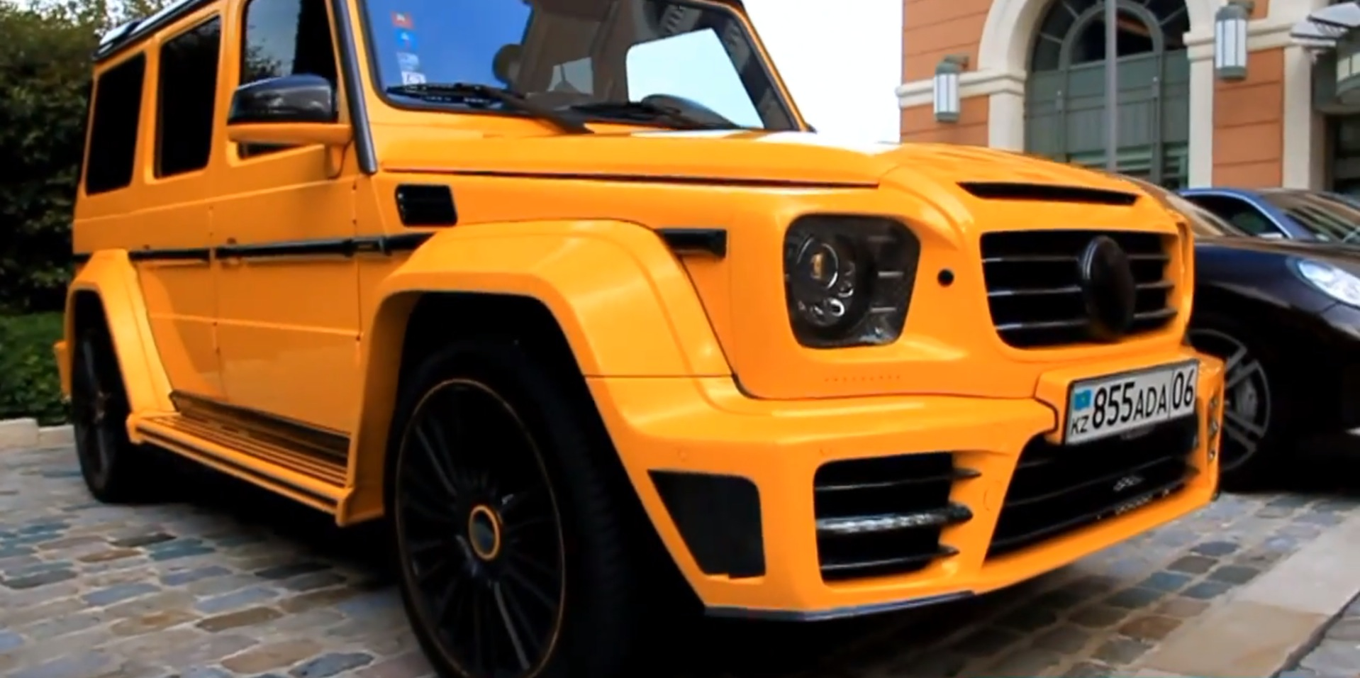 Yellow Mercedes G63 Amg Gronos By Mansory Spotted In Monaco Autoevolution