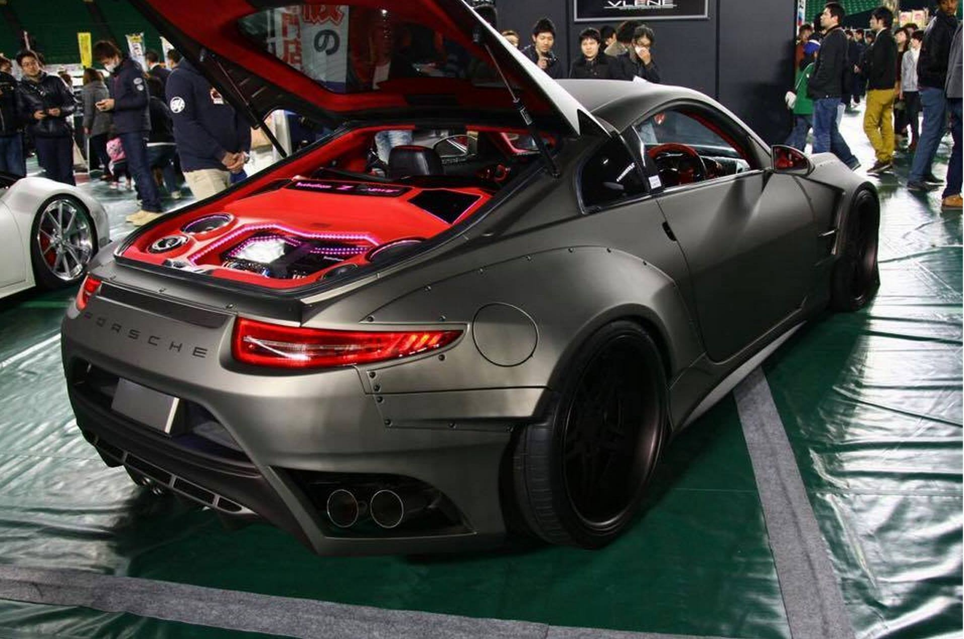 Yes, This Is a 350Z with a Porsche 911 Tail and Maserati