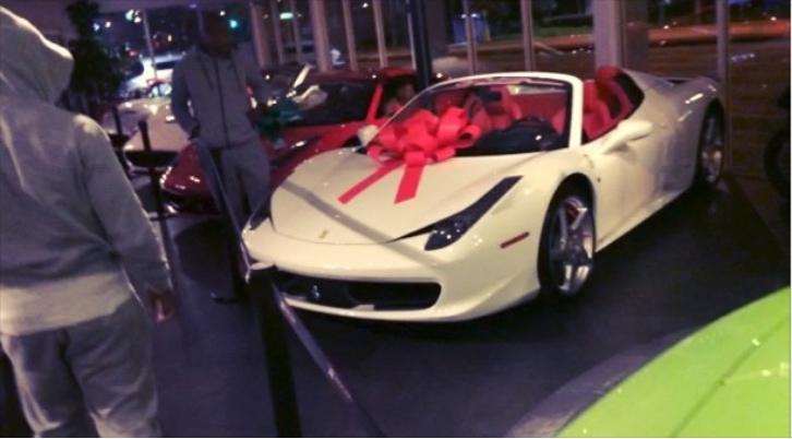 Yo Gotti Buys New Ferrari 458 Spider Celebrating Errbody Hit Autoevolution