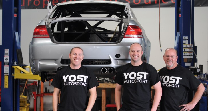 Yost Autosport Starts Building M3 Race Car at EAS [Photo Gallery]