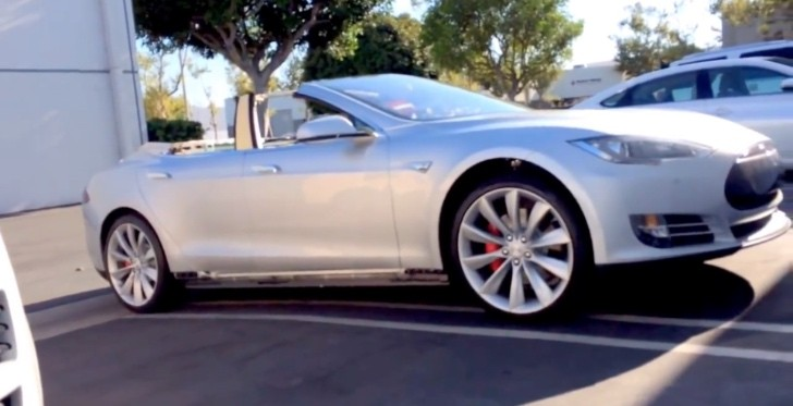 You Can Now Buy a Convertible Tesla Model S for $125,000 ...