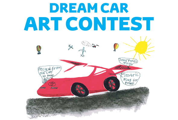 your kid could win toyota s prize at next year s car art contest autoevolution. Black Bedroom Furniture Sets. Home Design Ideas