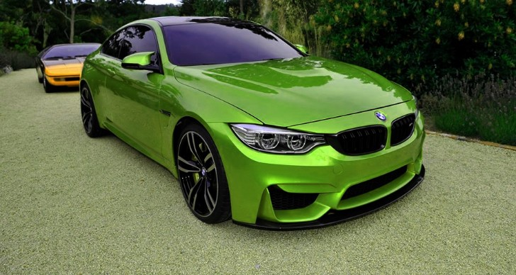 Your Rainbow Collection Of Bmw M4 Photos Is Here