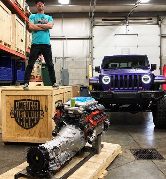 YouTuber Building 1,000 HP Hellephant Jeep Gladiator, Will