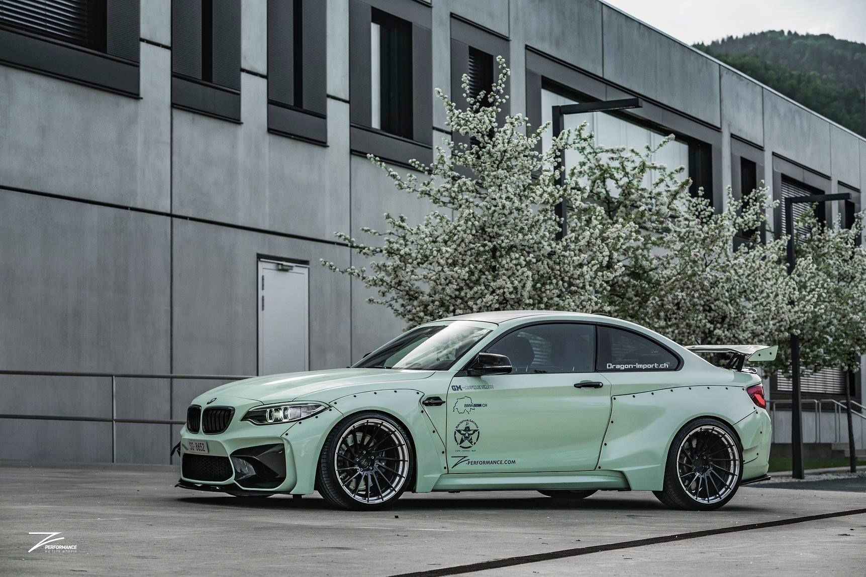 z performance bmw m2 is a unique widebody beast. Black Bedroom Furniture Sets. Home Design Ideas