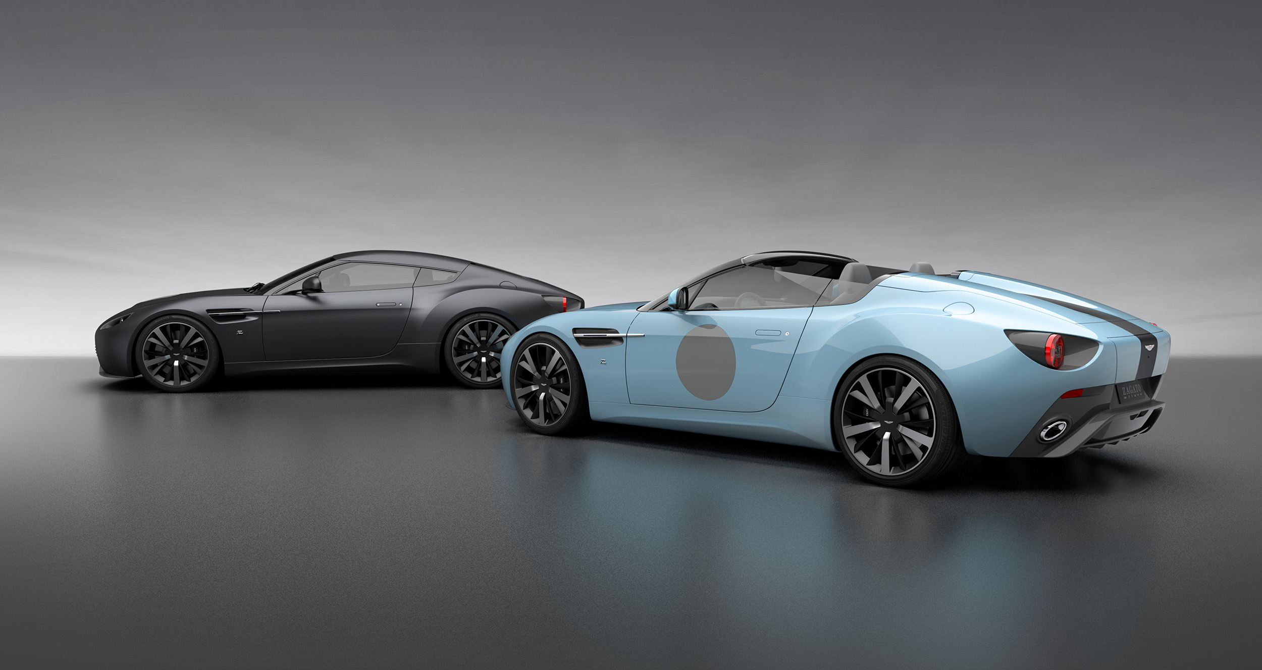 Zagato Celebrates 100th Anniversary With Aston Martin V12 Vantage Twins Autoevolution