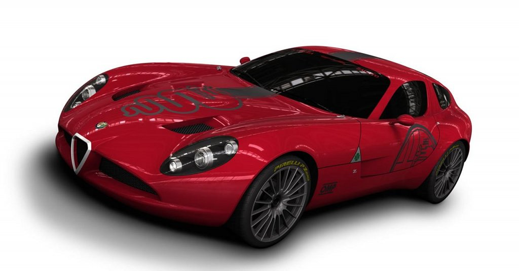 Zagato Unveiled The Alfa Romeo TZ Corsa Race Car Autoevolution - Alfa romeo tz3 corsa
