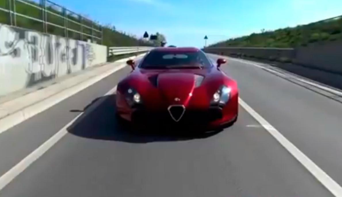 Alfa romeo tz3 stradale engine 4