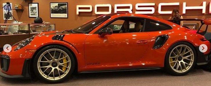Zanzibar Red Porsche 911 Gt2 Rs Shines Brighter Than The