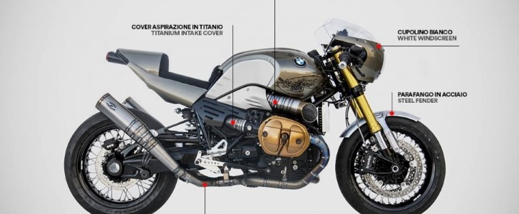 zard reveals cool exhaust line for bmw r ninet autoevolution. Black Bedroom Furniture Sets. Home Design Ideas
