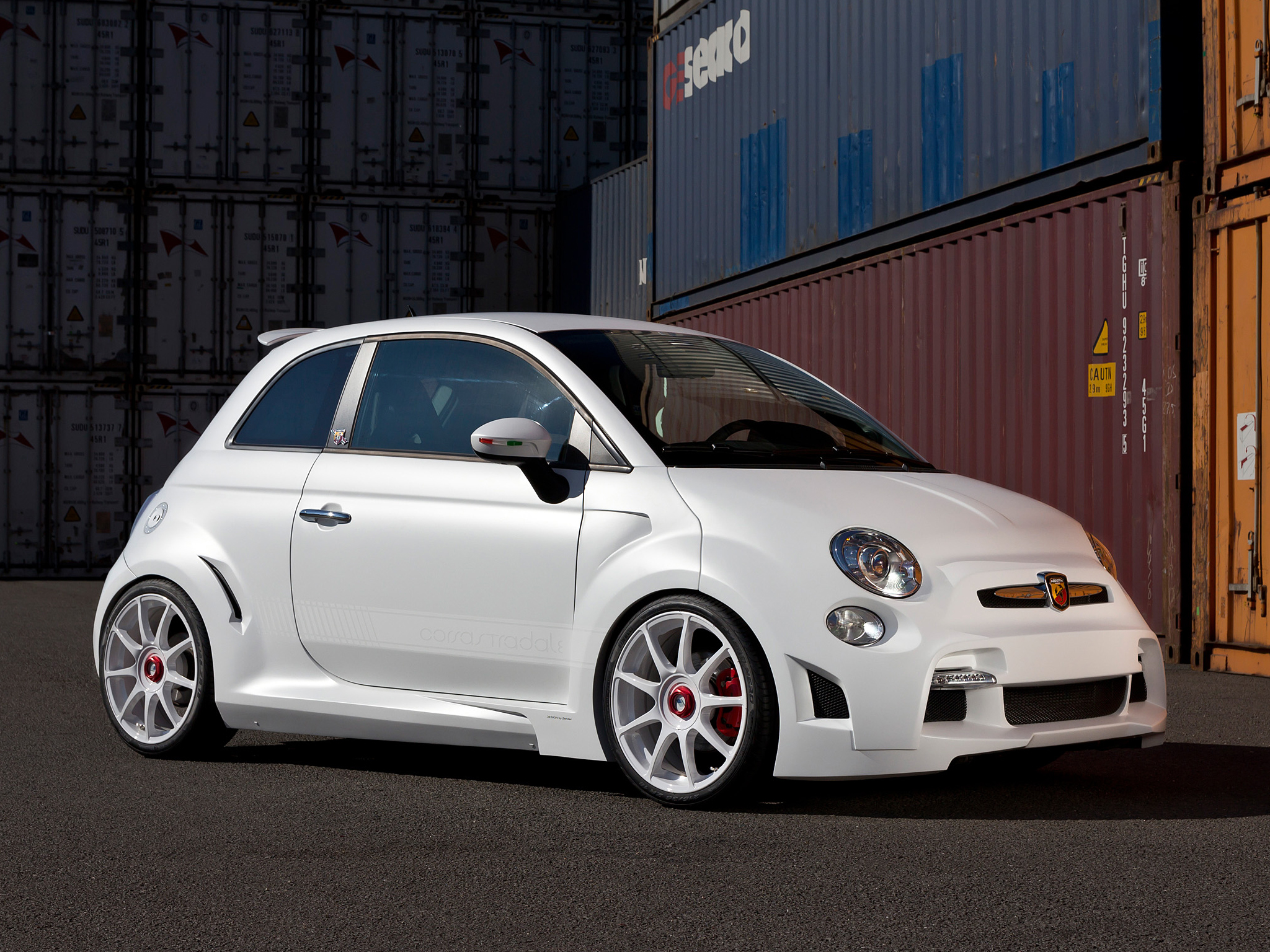 zender abarth 500 corsa stradale has 240 hp video. Black Bedroom Furniture Sets. Home Design Ideas
