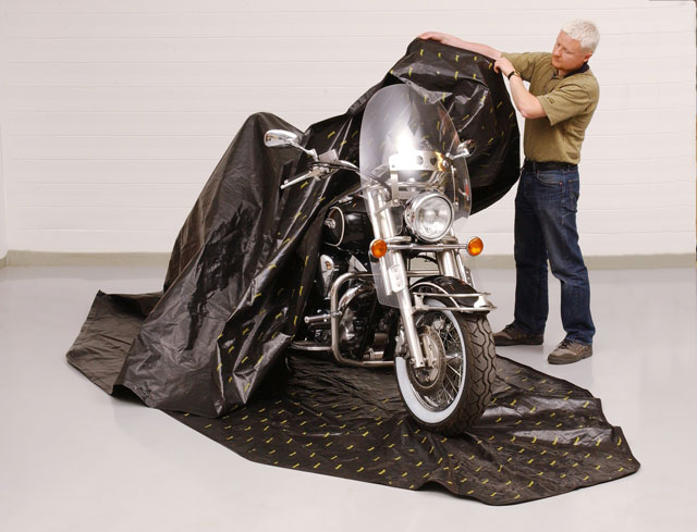 Zerust The Rust Inhibitor Motorcycle Cover Autoevolution