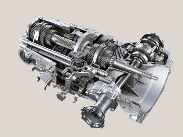 Zf Details Word S First 7 Speed Manual Gearbox Autoevolution