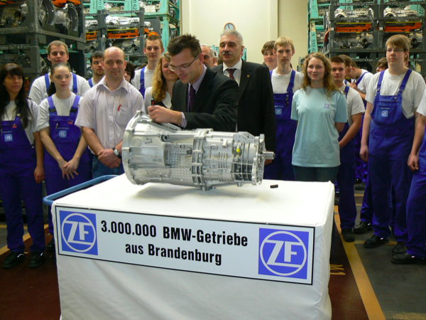 Zf Plant Builds 3 Millionth Transmission For Bmw Autoevolution