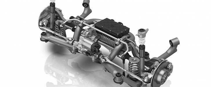 Zf S New Modular Rear Axle Has Steering And Electric Drive