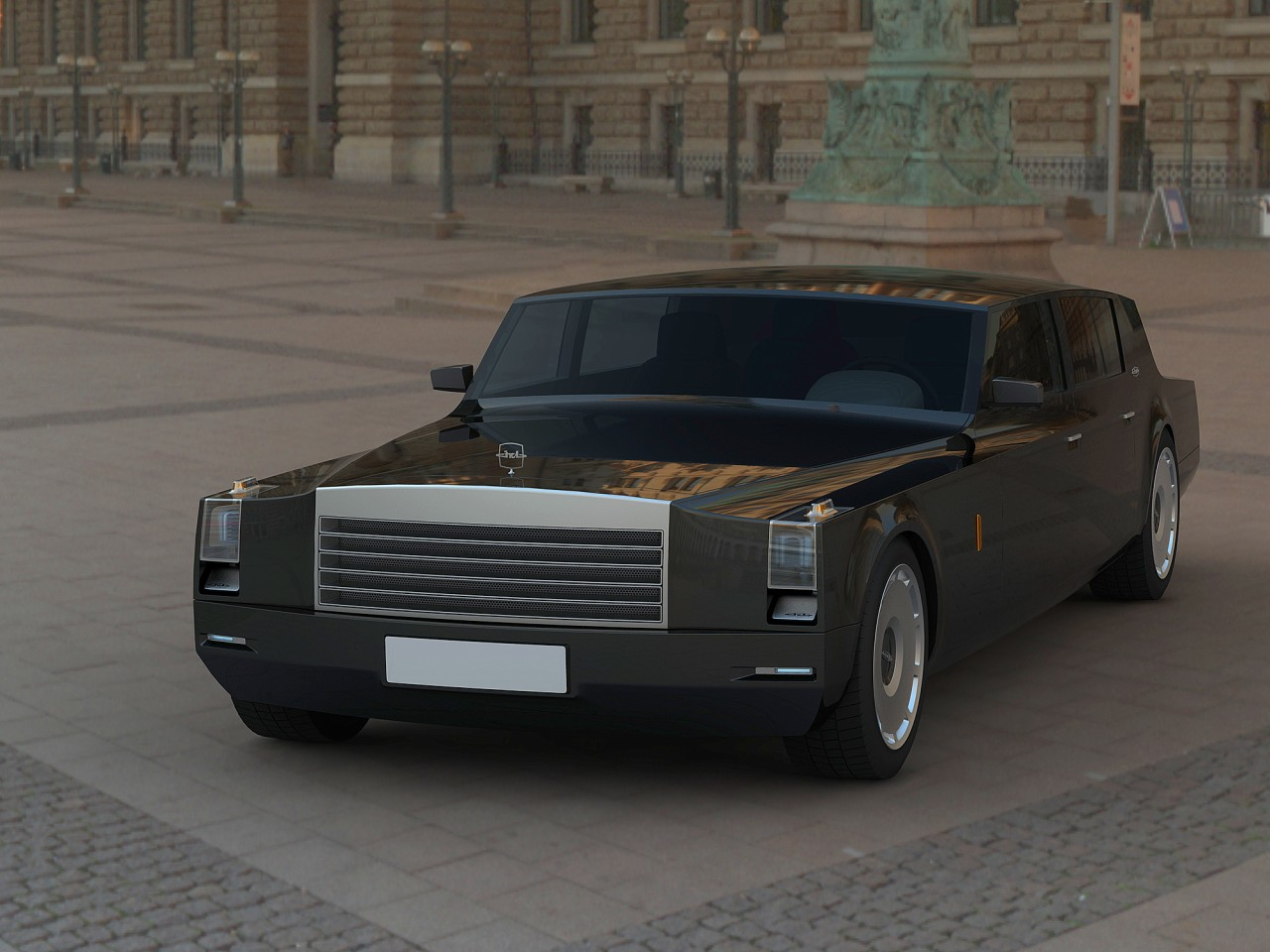 zil concept russia 39 s new premium limousine autoevolution. Black Bedroom Furniture Sets. Home Design Ideas