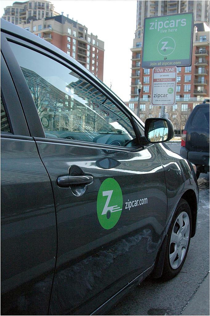 zipcar parking spots extend in vancouver autoevolution. Black Bedroom Furniture Sets. Home Design Ideas