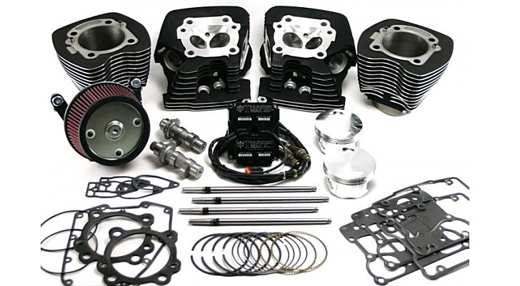 "Zipper Muscle 103"" Engine Kit for Harley-Davidson Available"