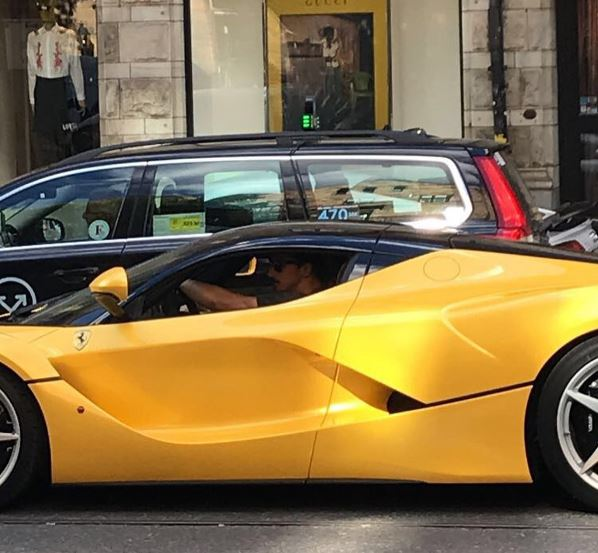Zlatan Ihimovic Parades His LaFerrari in Stockholm - autoevolution