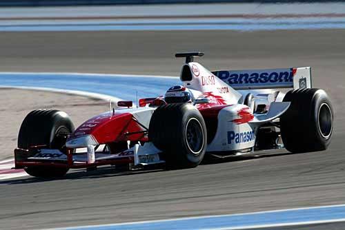 Zonta gifted toyota tf104 race car autoevolution