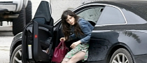 Zooey Deschanel Drives an Audi A5 Coupe