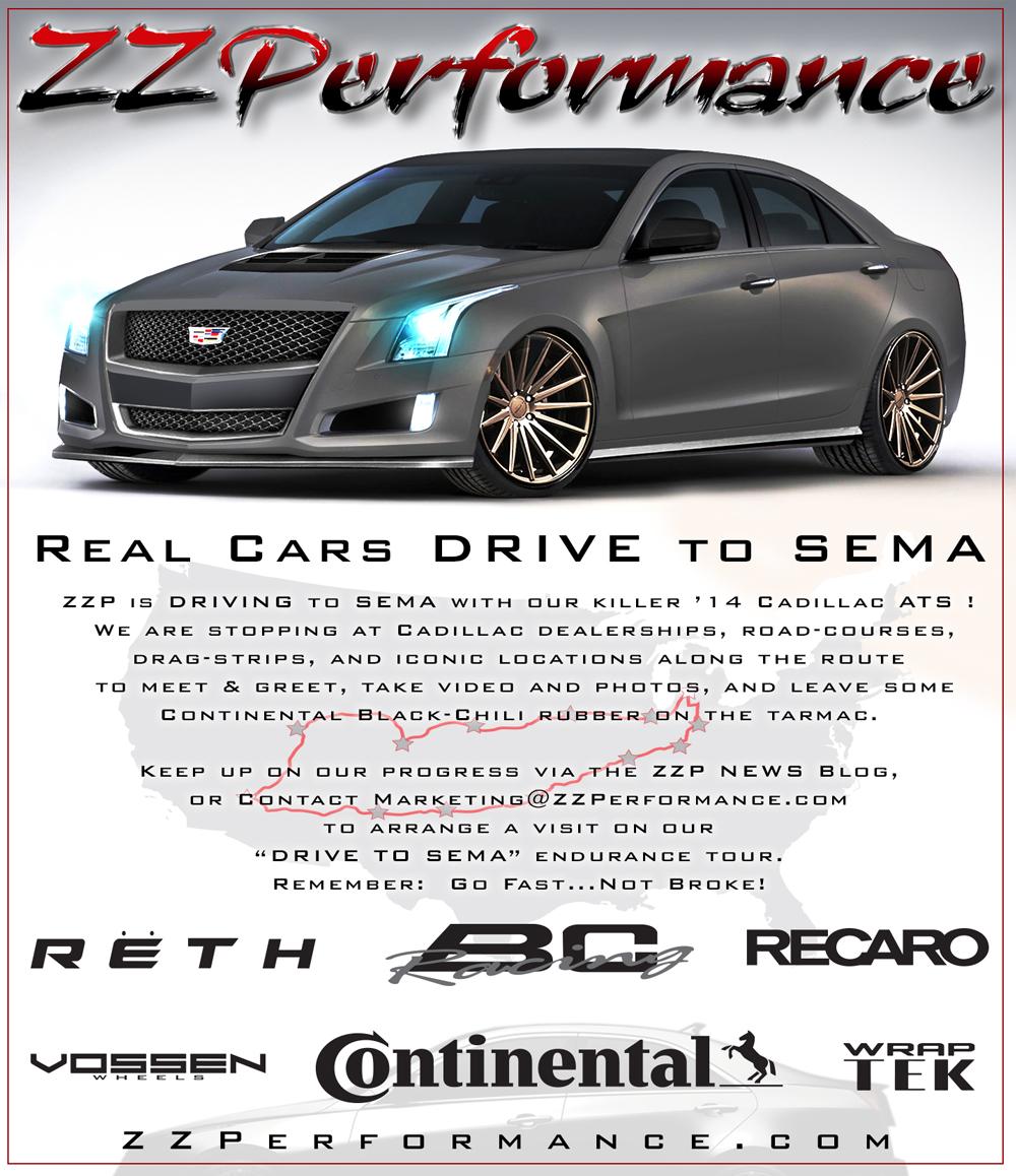 Custom Cadillac Ats: ZZ Performance Cadillac ATS Coming To SEMA [Video
