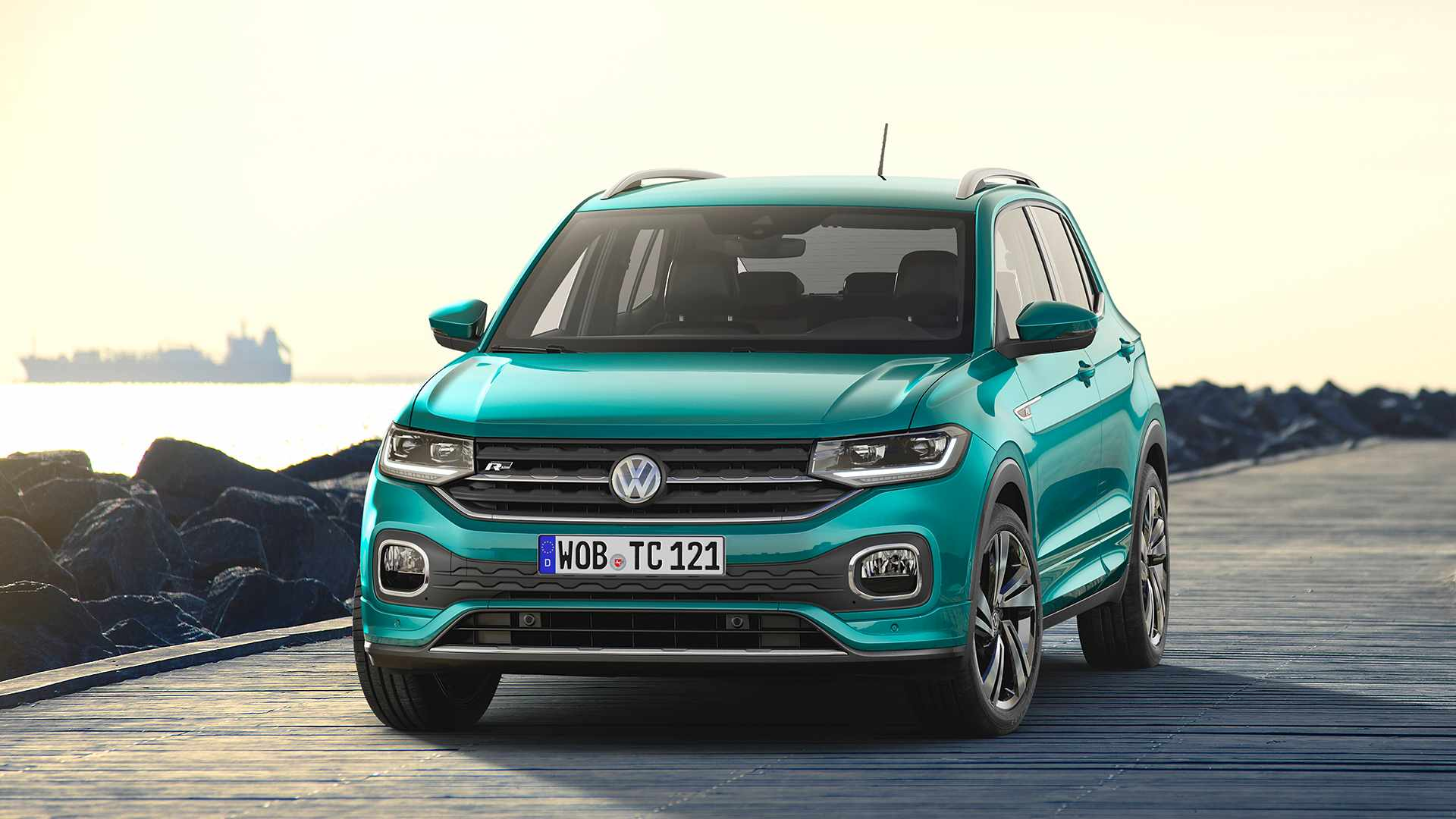 2019 volkswagen t cross review autoevolution. Black Bedroom Furniture Sets. Home Design Ideas