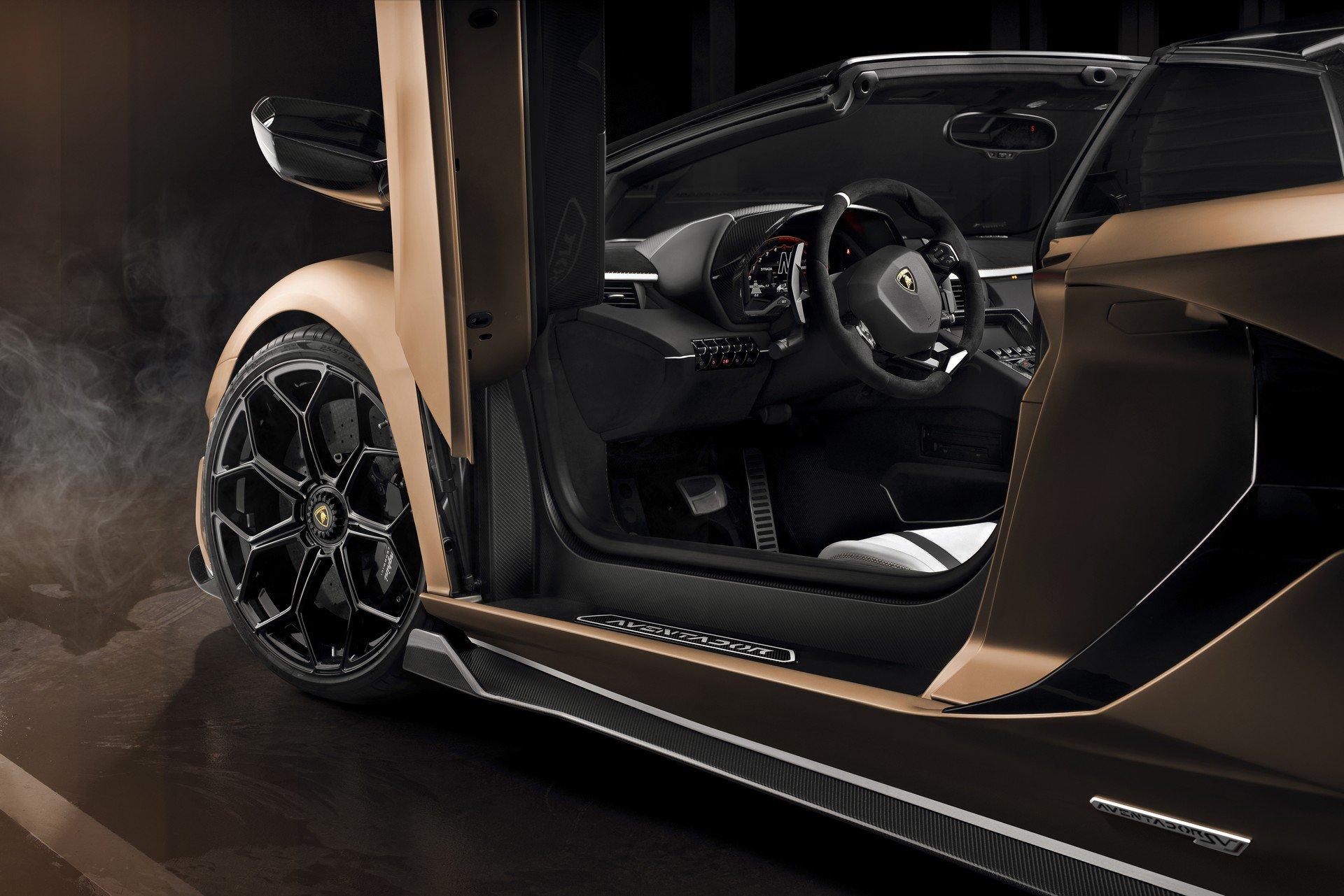 2020 lamborghini aventador svj roadster review  autoevolution