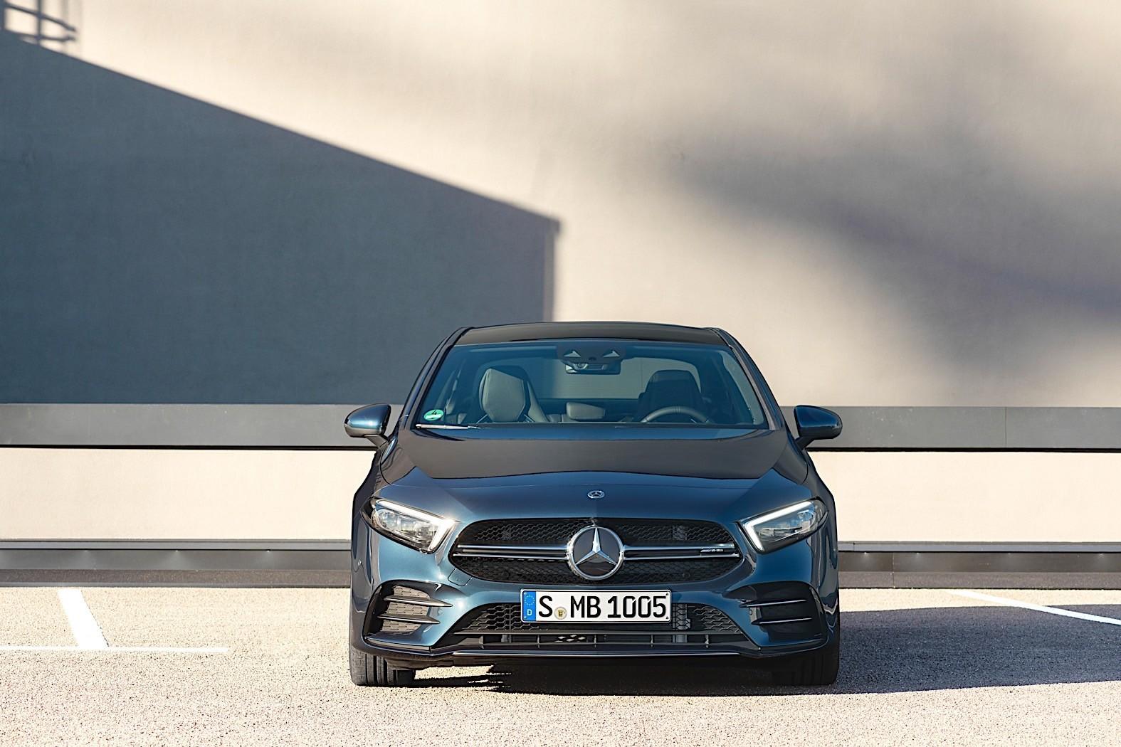 2020 Mercedes Amg A 35 Sedan Review Autoevolution