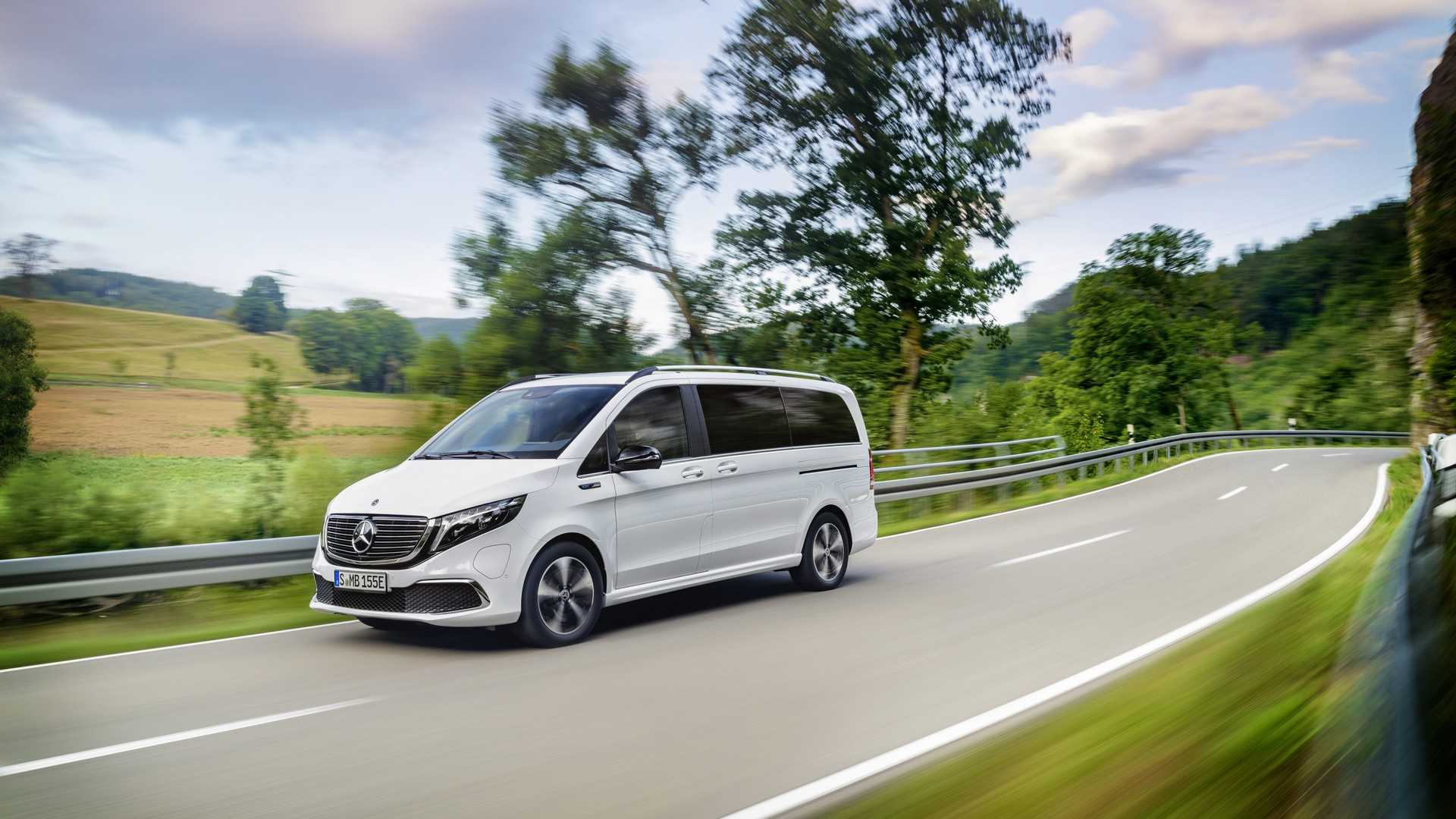Mercedes-Benz EQV 2020 Review