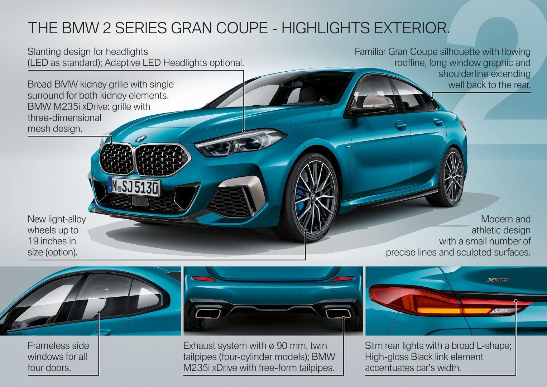 2021 BMW 2 Series Gran Coupe Review - autoevolution