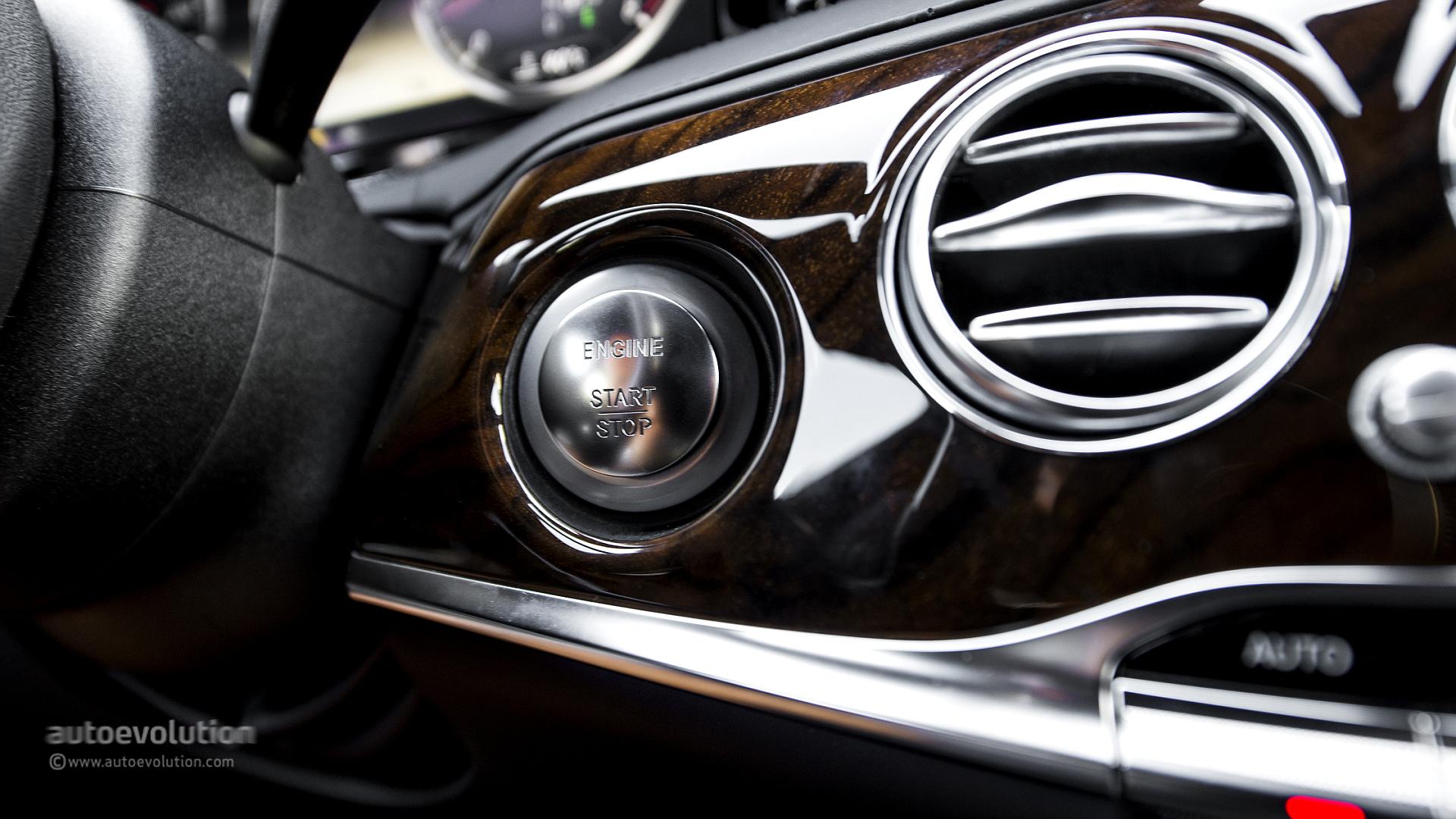 2014 MERCEDES-BENZ S550 engine start button: www.autoevolution.com/testdrive-hd-photo/2014-mercedes-benz-s500...