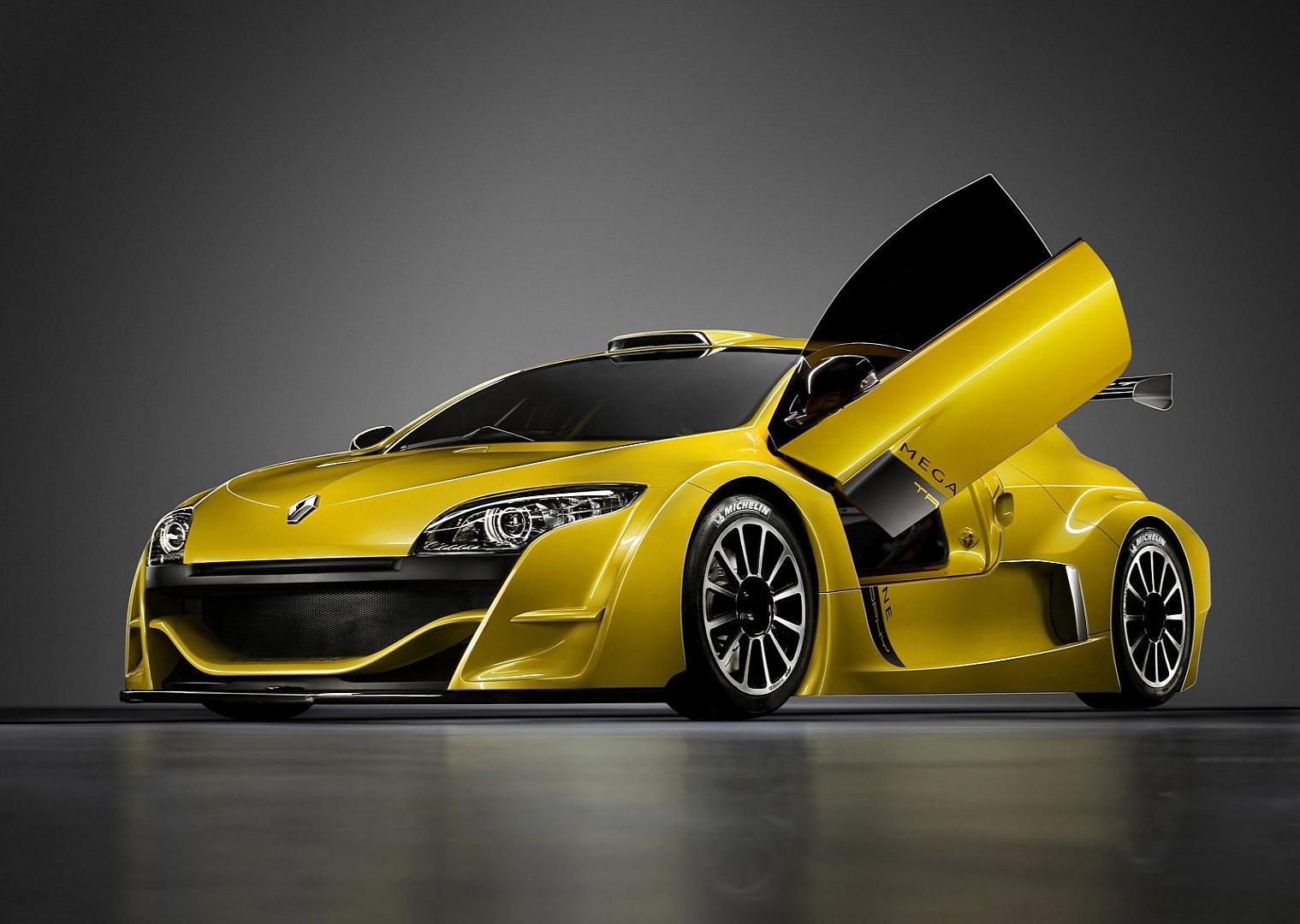 Megane trophy race car