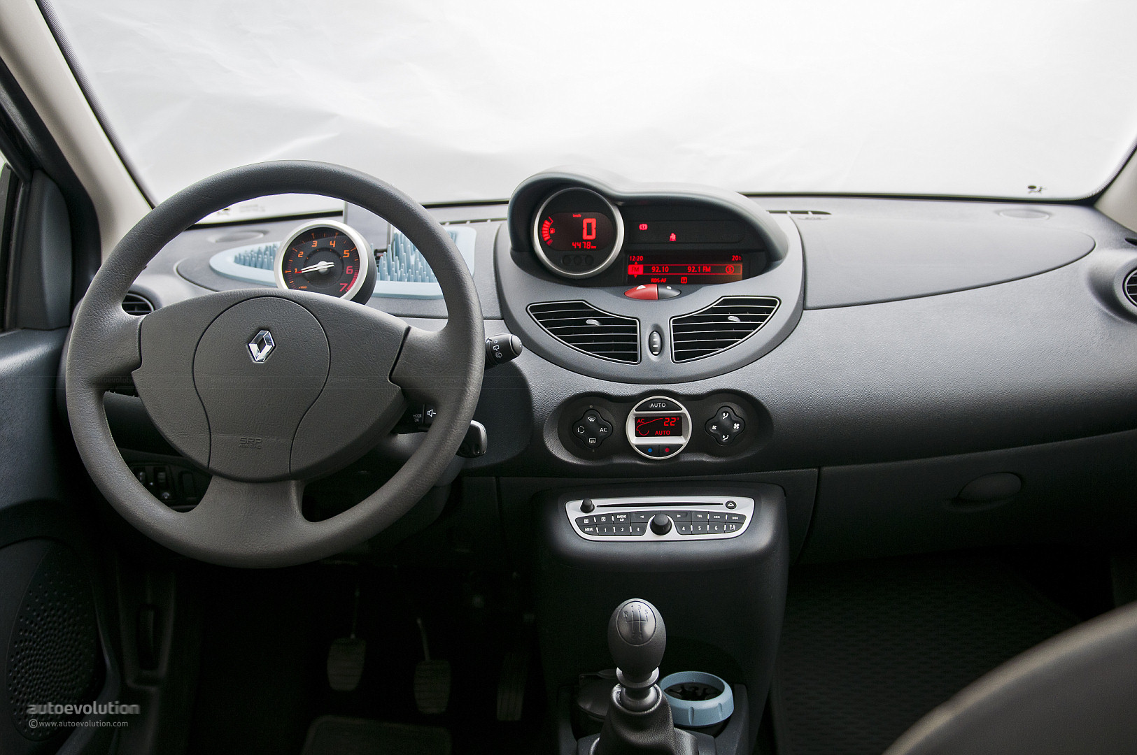 Renault Twingo Dashboard Pictures