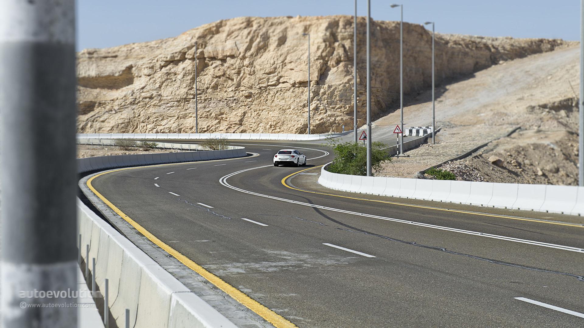 ferrari ff on jebel hafeet mountain road review