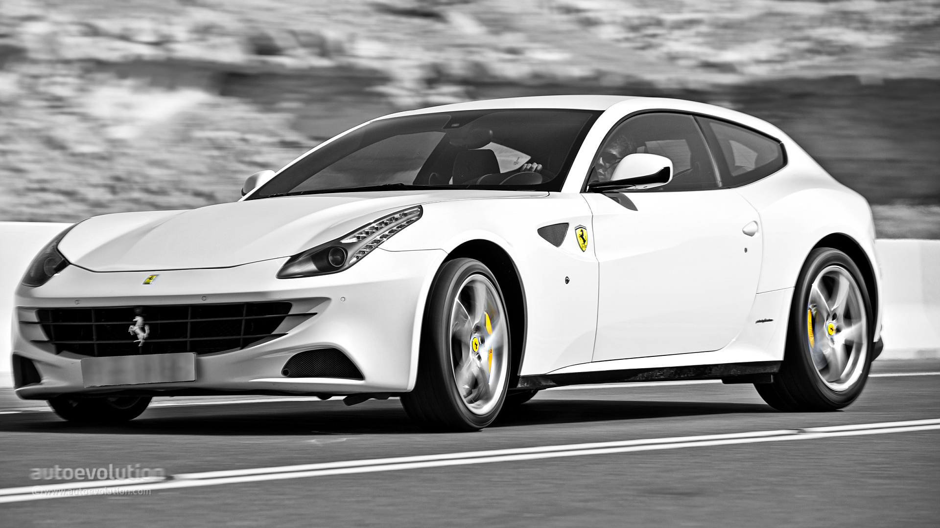 Ferrari Ff On Jebel Hafeet Mountain Road Review