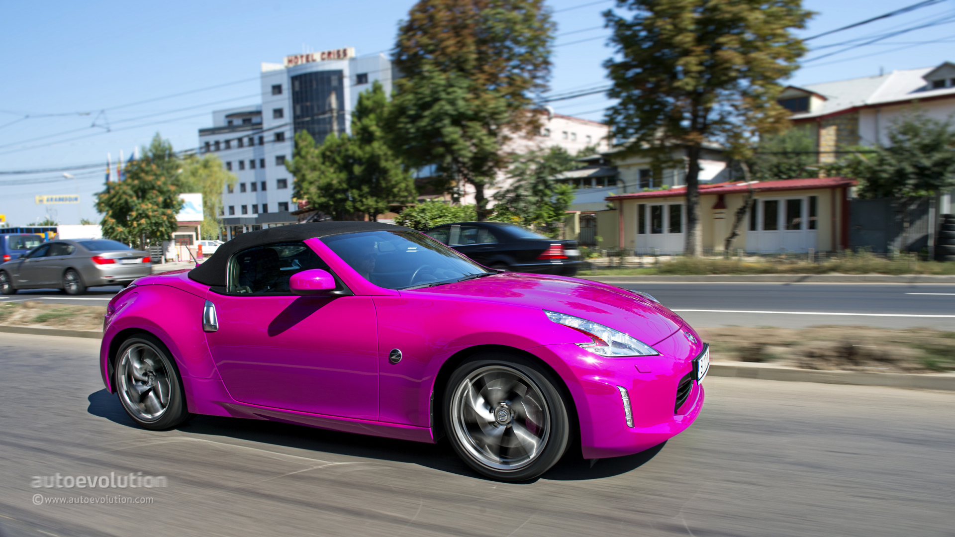 2014 nissan 370z roadster review autoevolution. Black Bedroom Furniture Sets. Home Design Ideas