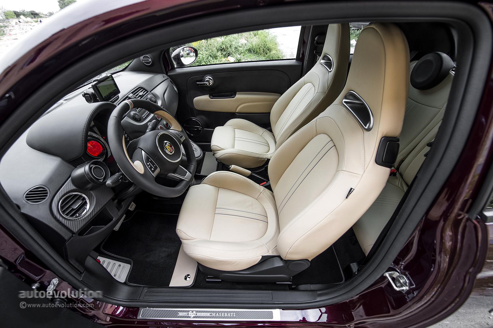 Abarth 695 Edizione Maserati Review - autoevolution
