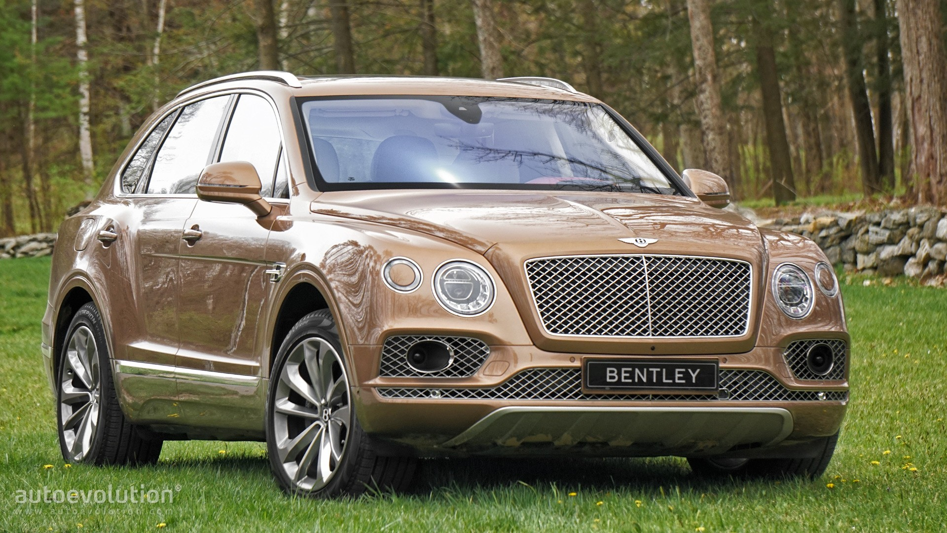 Gls 63 Amg >> 2016 BENTLEY Bentayga W12 Review - autoevolution