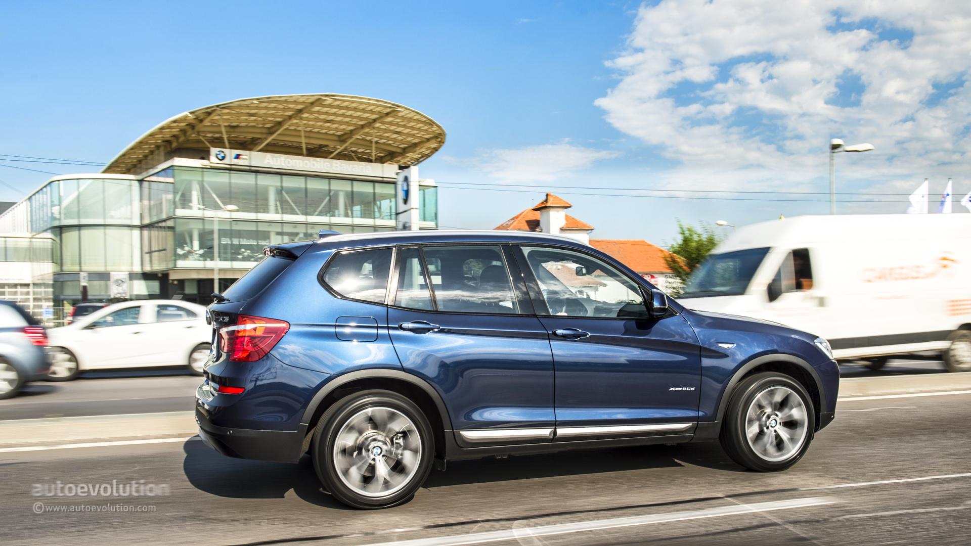 BMW X Review Autoevolution - Blue bmw x3