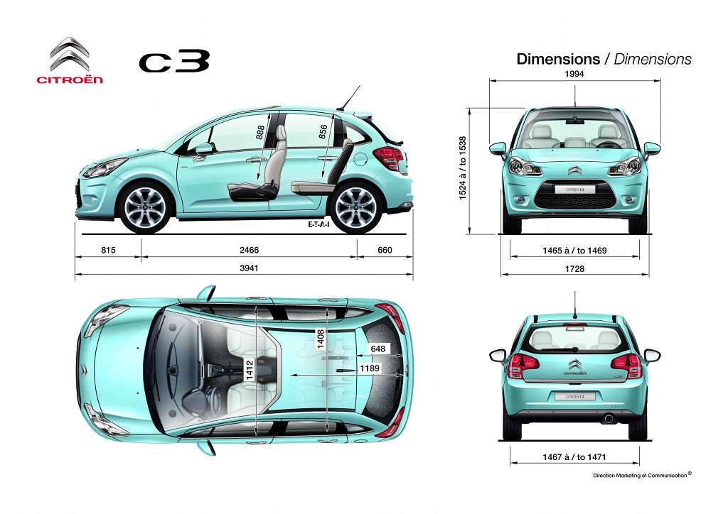 route occasion citroen c3 picasso dimensions. Black Bedroom Furniture Sets. Home Design Ideas