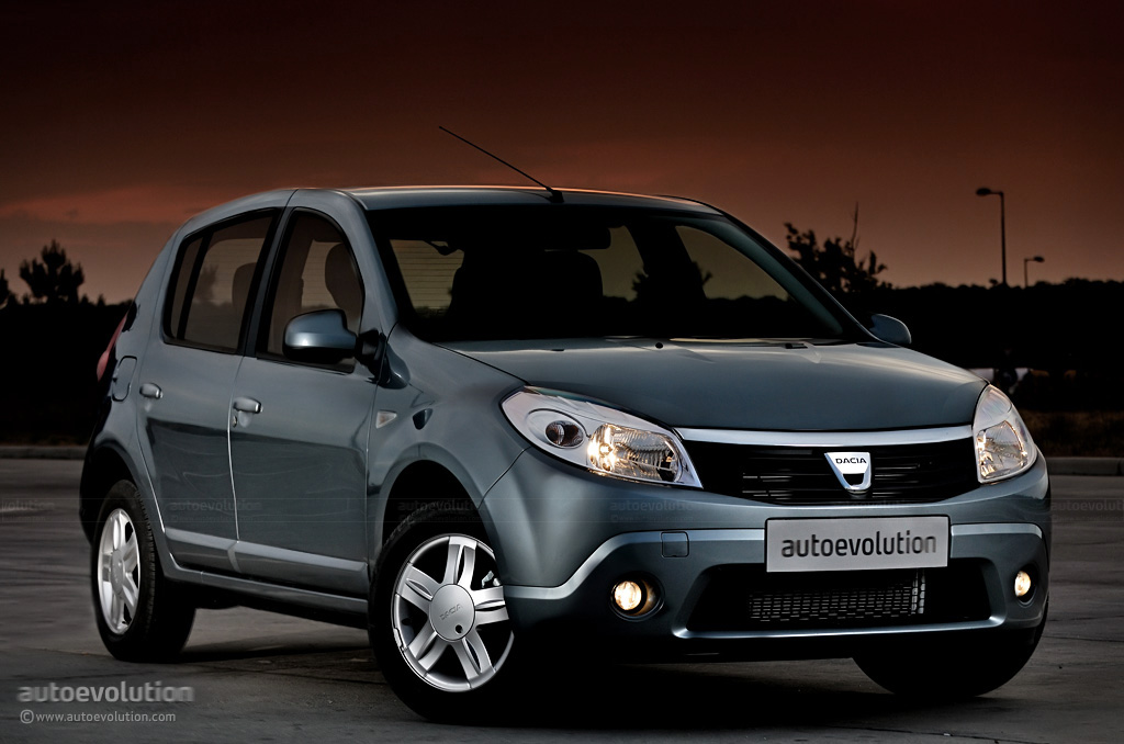 dacia sandero review autoevolution. Black Bedroom Furniture Sets. Home Design Ideas