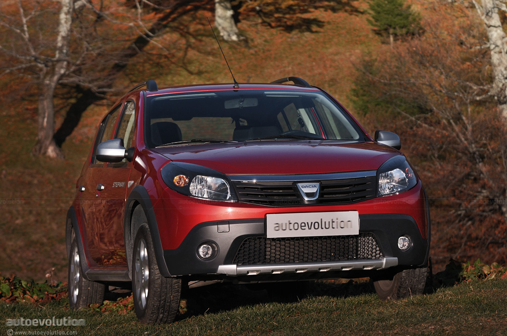 dacia sandero stepway review page 2 autoevolution. Black Bedroom Furniture Sets. Home Design Ideas