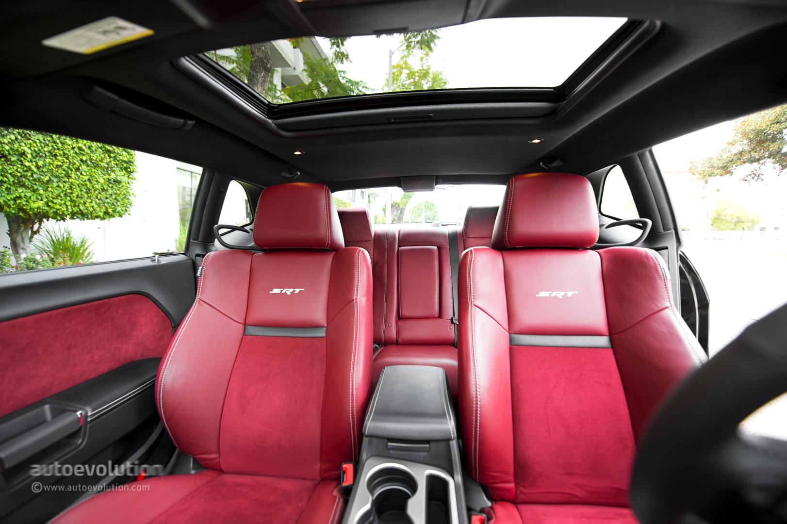 Dodge Challenger Red Interior Trim