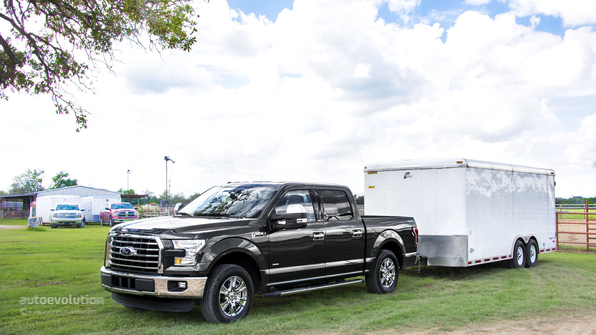 2015 ford f 150 review autoevolution. Black Bedroom Furniture Sets. Home Design Ideas