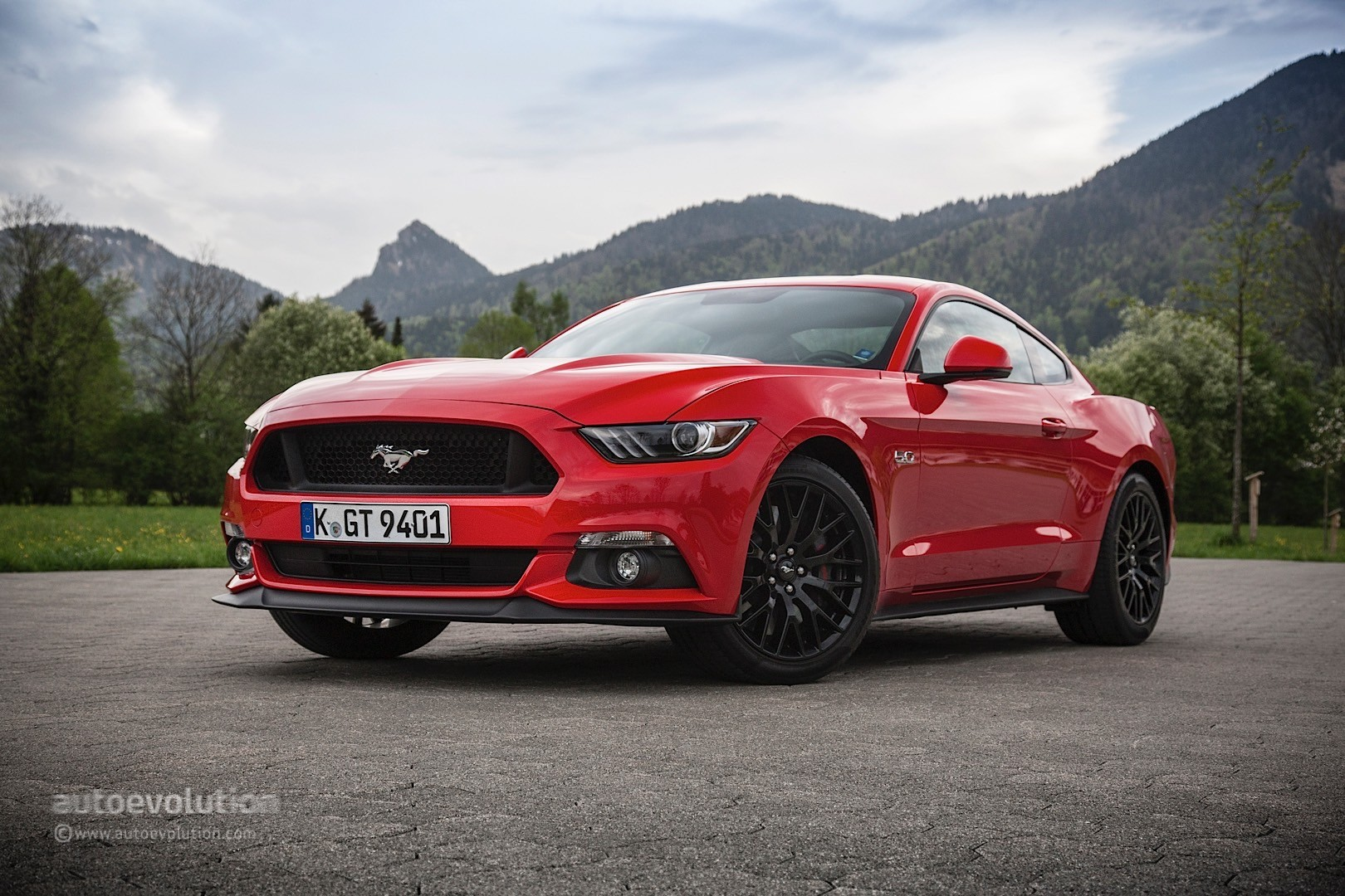 2015 Ford Mustang Review Autoevolution