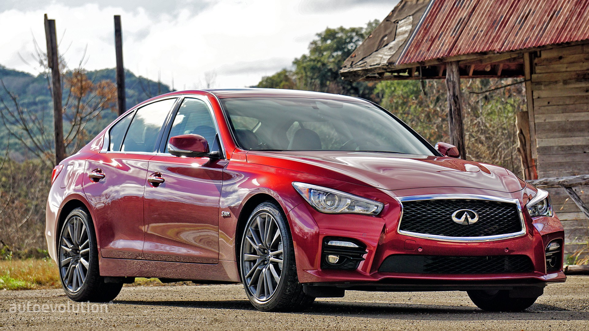 2016 Infiniti Q50 Red Sport 400 Review - autoevolution