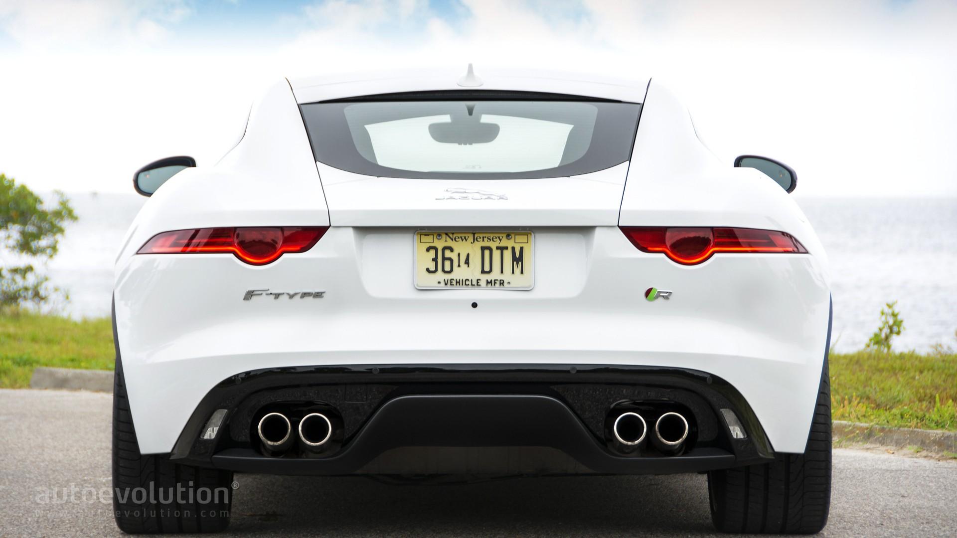 2015 jaguar ftype r coupe review autoevolution