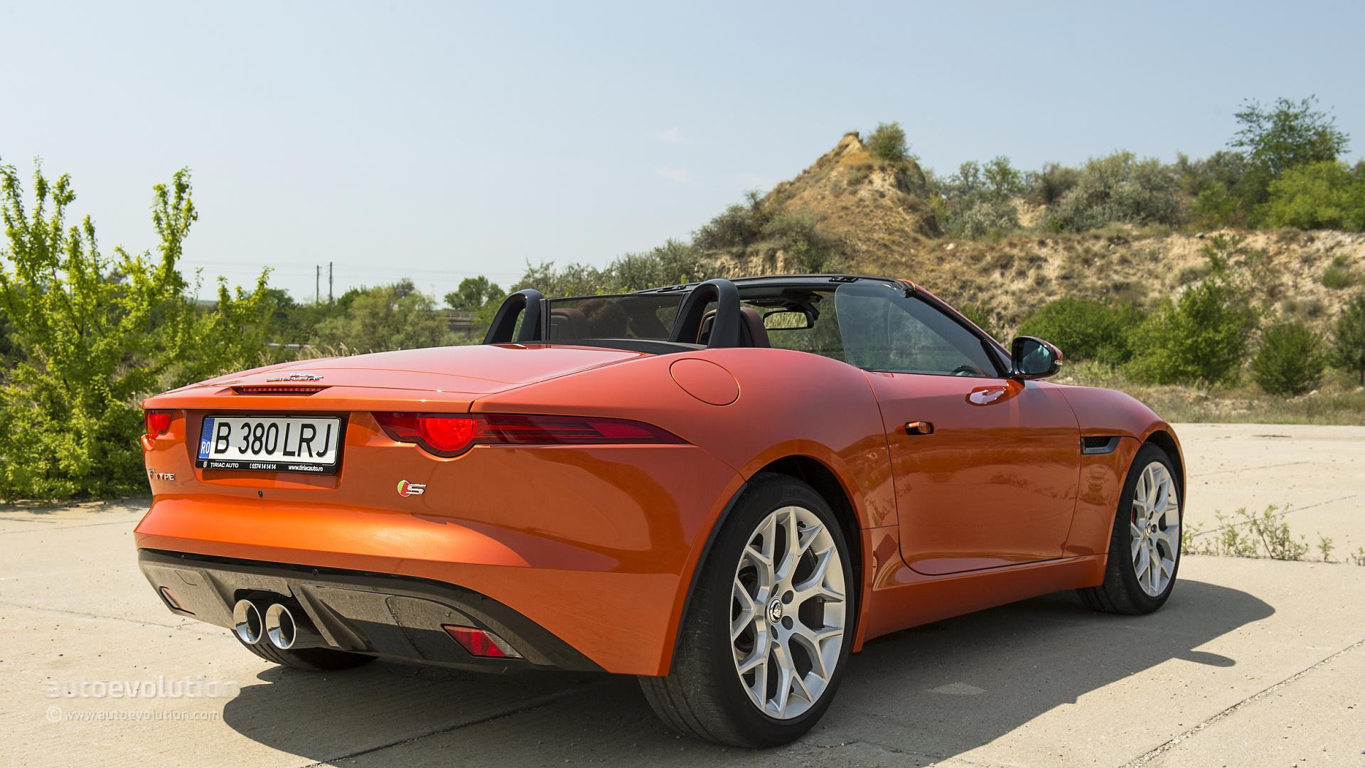 jaguar f-type v6 s review - autoevolution