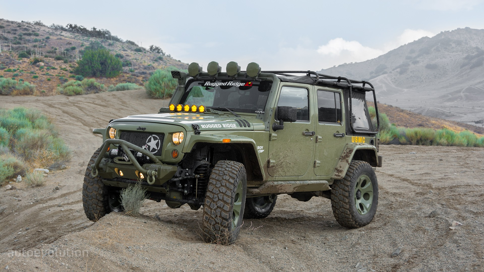 2014 Jeep Wrangler Rubicon by Rugged Ridge Review ...